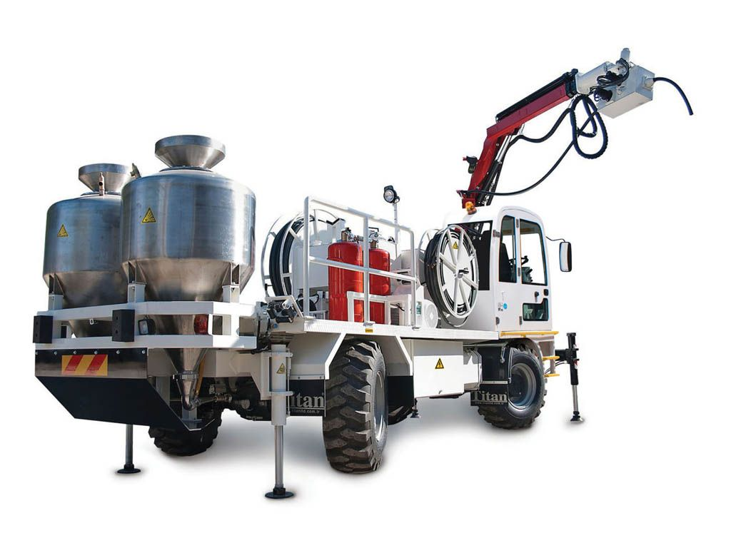 Anfo Charger Truck for Tunnel