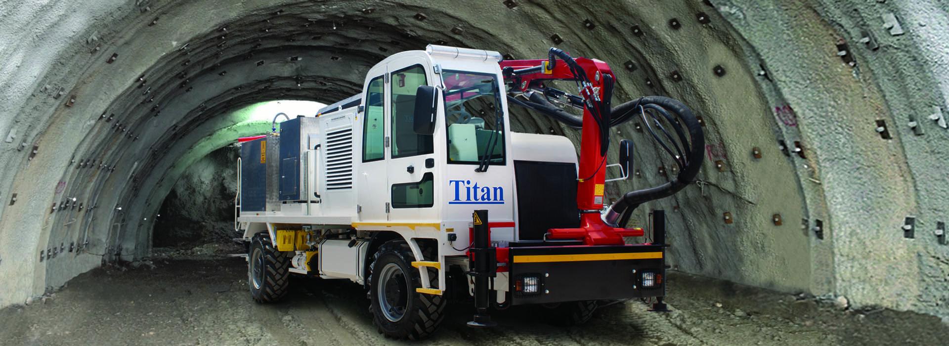 Concrete Spraying Machine Shotcrete Rig Pump Tunnel