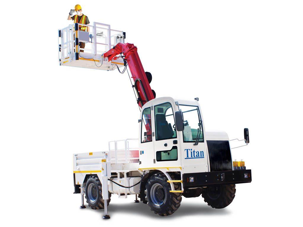 SP1500 Basket Boom Truck