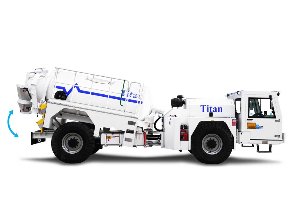 BYM6 Concrete Transmixer for Tunnel