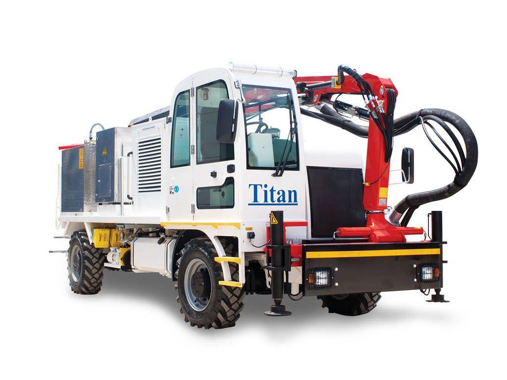 Concrete Spraying Truck