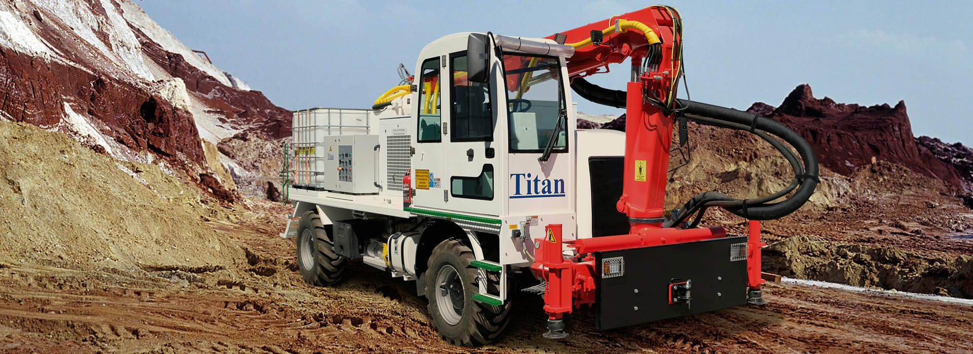Concrete Spraying Machine Turkey