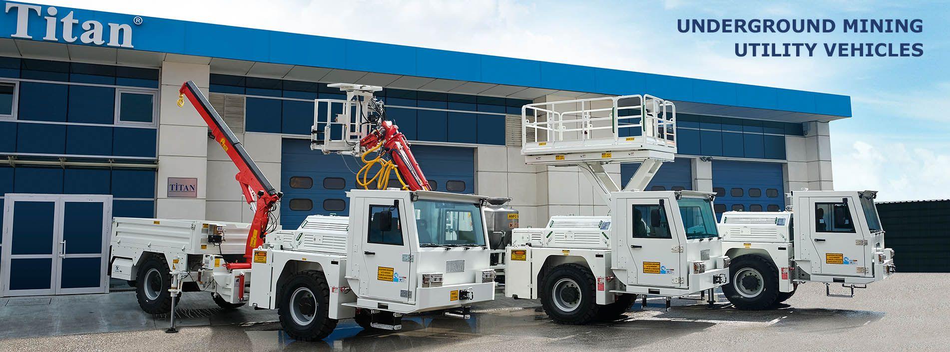 Mining Utility Vehicle