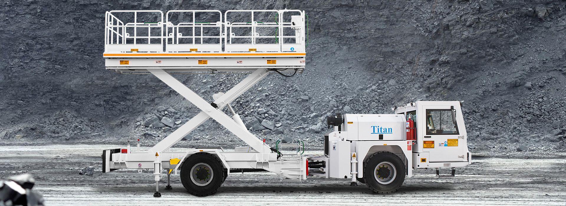 yerlatı mağdenleri için liftli kamyon