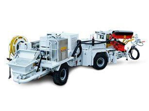 bis20 beton püskürtme aracı